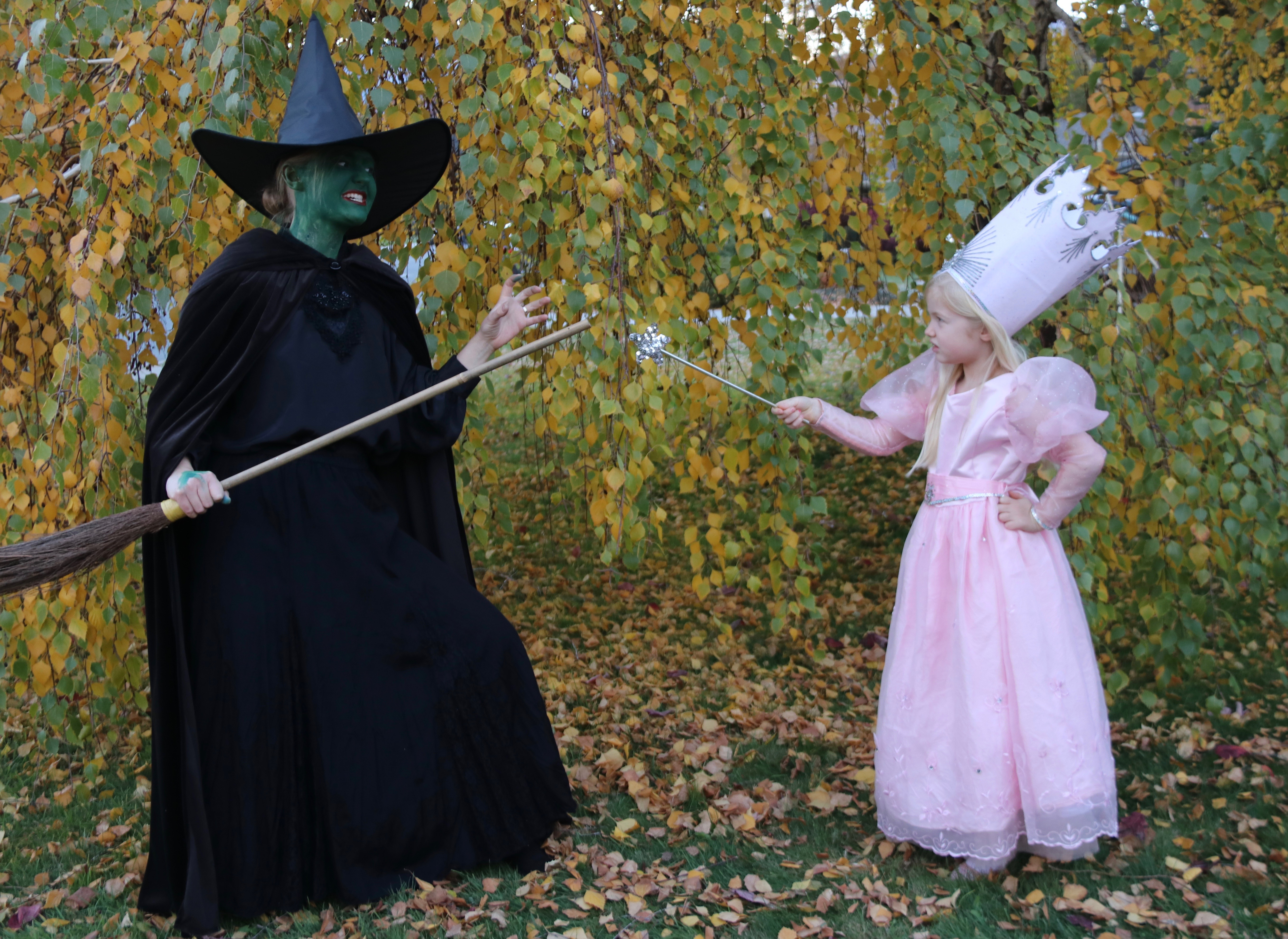 family wizard of oz costumes - diy wicked witch of the west - yes
